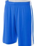N5284 A4 Adult Reversible Moisture Management Shorts
