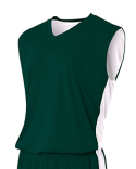 NB2320 A4 Youth Reversible Moisture Management Muscle Shirt