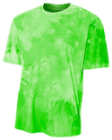 NB3295 A4 Youth Cloud Dye T-Shirt
