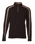 NB4005 A4 Youth Spartan Fleece Quarter Zip