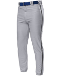 NB6178 A4 Youth Pro Style Elastic Bottom Baseball Pants