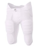 NB6180 A4 Youth Flyless Integrated Football Pants