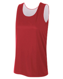 NW2375 A4 Ladies' Performance Jump Reversible Basketball Jersey