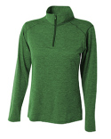 NW4010 A4 Ladies' Tonal Space-Dye Quarter-Zip