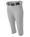 NW6188 A4 Ladies' Softball Pants w/ Piping