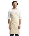 RP130 Artisan Collection by Reprime Unisex Calibre Heavy Cotton Canvas Bib Apron
