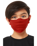 SC323Y Bella + Canvas Youth Lightweight Fabric Face Mask