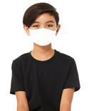 TT044Y Bella + Canvas Youth 2-Ply Reusable Face Mask