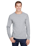 W120 Hanes Adult Workwear Long-Sleeve Pocket T-Shirt